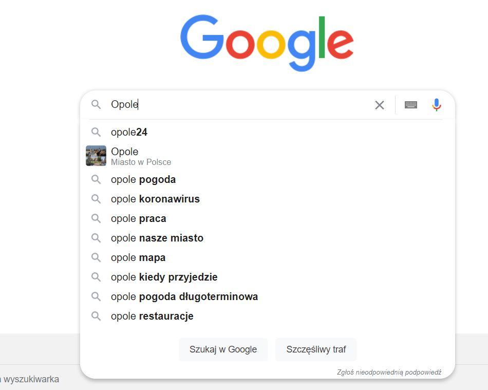 Pozycjonowanie stron Opole